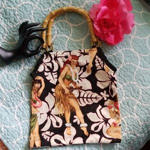 Handmade vintage pinup bag